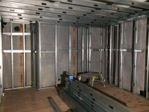 metal wall and ceiling