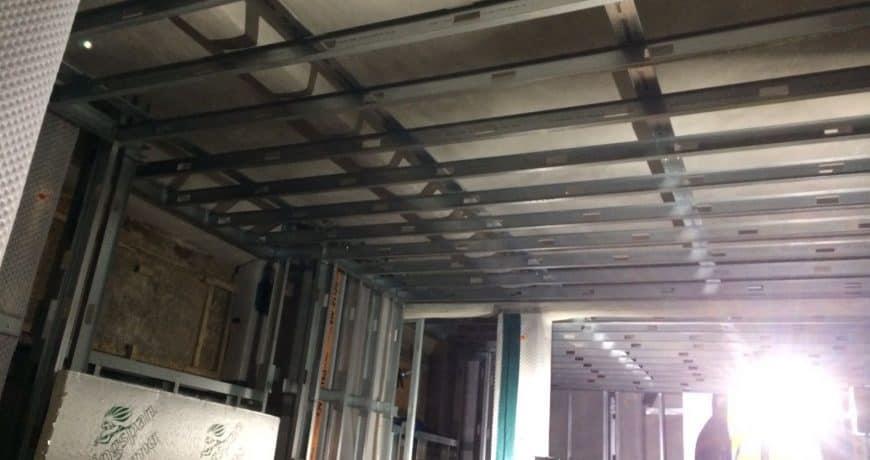 dry wall metal frame