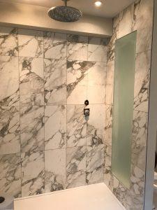 marbel bathroom completed