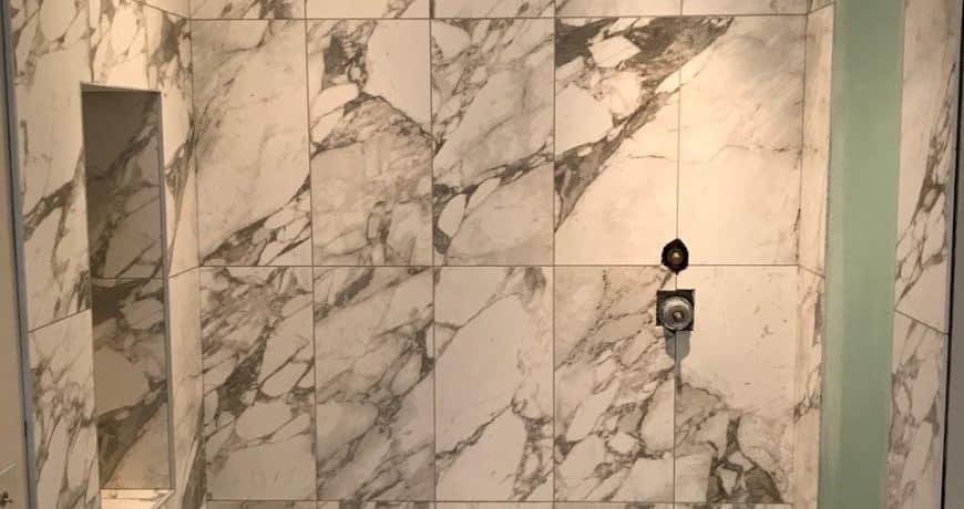 Marbel bathroom tiles