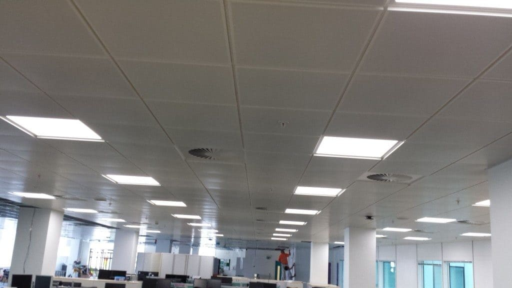 Suspended ceilings Birmingham completed