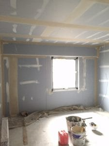 tape and joint wall and ceilings