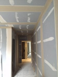tape and joint corridor