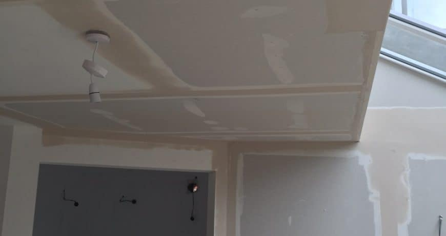 tape and joint ceilings